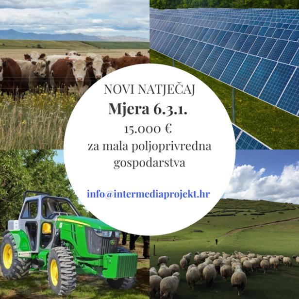 Mjera 6.3.1. Mala poljoprivredna gospodarstva